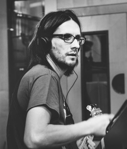 Steven Wilson @ AIR Studio London, pic by Lasse Hoile