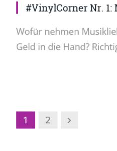 """""""blättern"""" in Suchergebnissen auf Betreutes Proggen"""