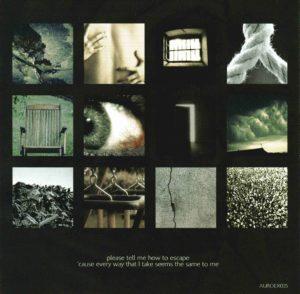 """Rückseite des 12seitigen """"Silk""""-Booklets"""