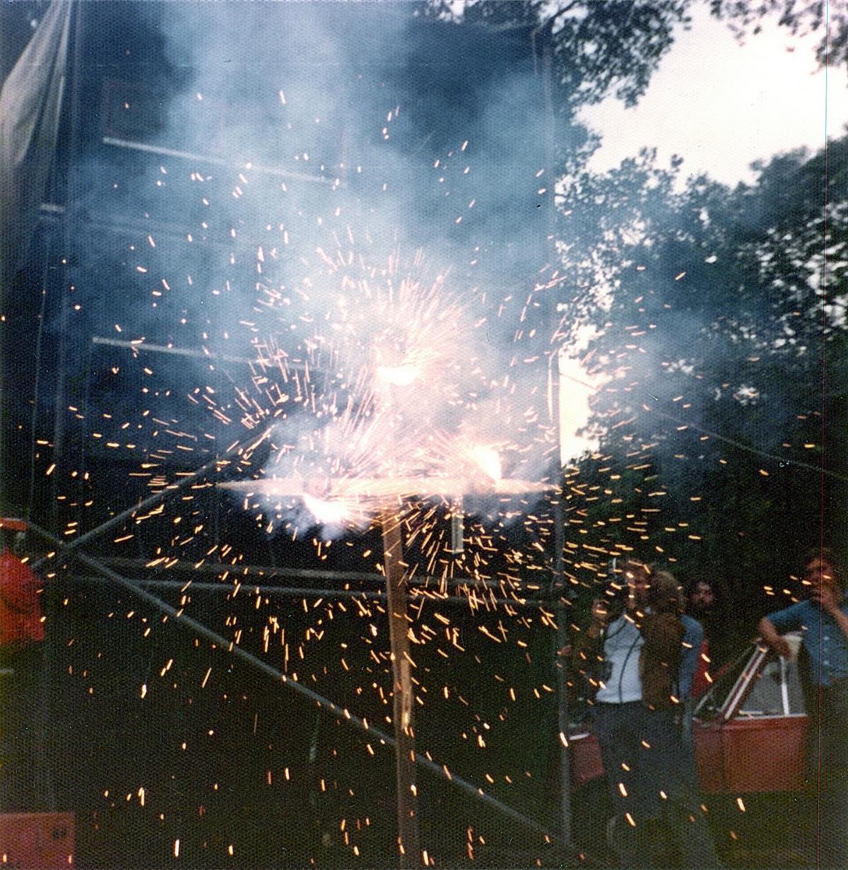 """""""Grobschnittbombe"""" (Bochum, Ruhrwiesen, 1974)"""