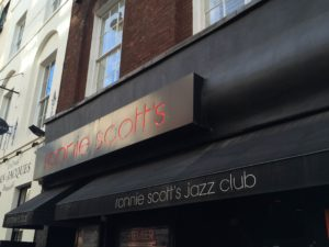 Ronnie Scott's in Frith Street - Foto: W. Ehrhardt