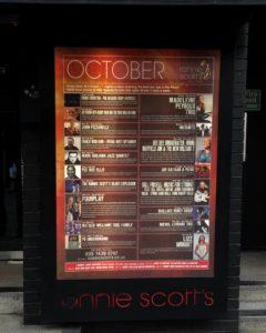 Ronnie Scott's Oktober Programm 2015 - Foto: W. Ehrhardt