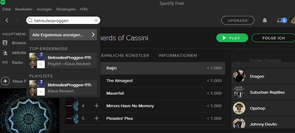 BetreutesProggen-Spotify-Suche-nach-Playlists