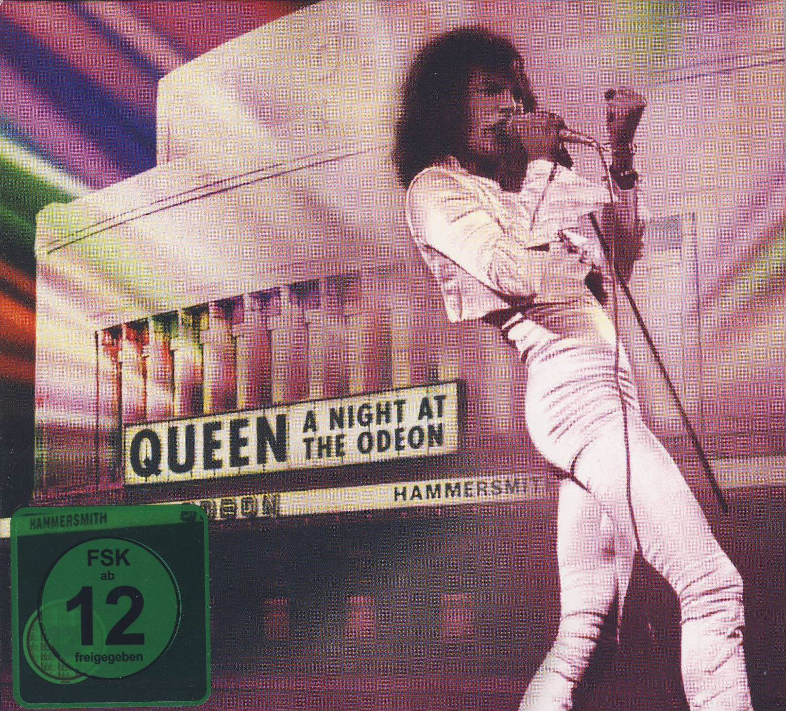 Queen – A Night At The Odeon – Hammersmith 1975-Cover
