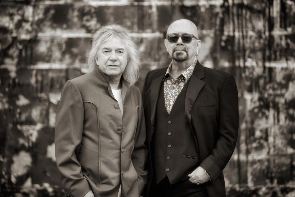 Bob Catley (links) & Tony Clarkin