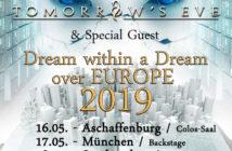 DGM & Tomorrow's Eve - Tour 2019, präs. v. BetreutesProggen.de