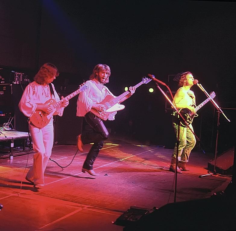 Die Schnitten 1978: Lupo, Hunter, Willi