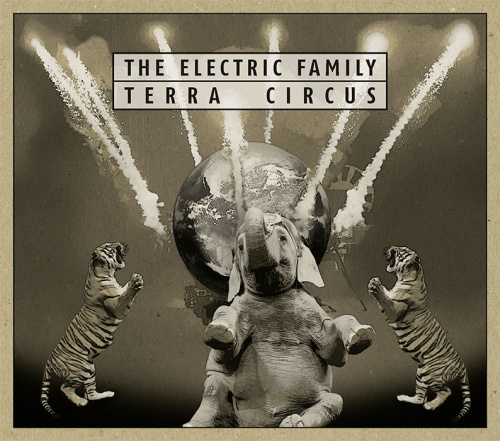 The Electric Family - Terra Circus - Cover - 2017