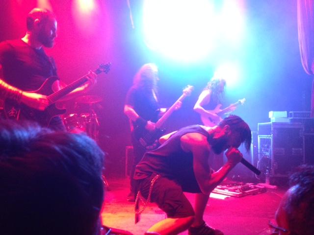 Persefone, 12. April 2017, Backstage München