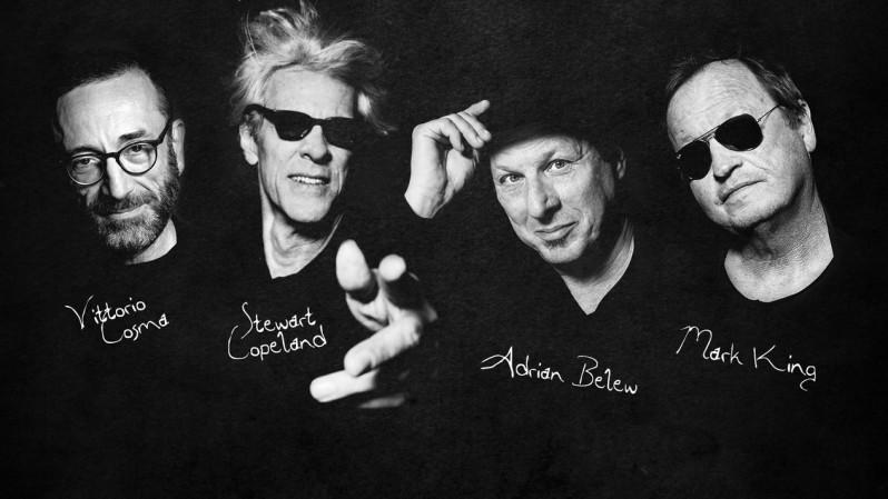 Stewart Copeland, Adrian Belew, Vittorio Cosma, Mark King