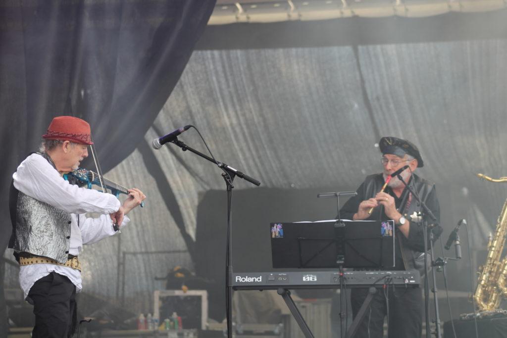 David Cross & David Jackson (David Cross Band)