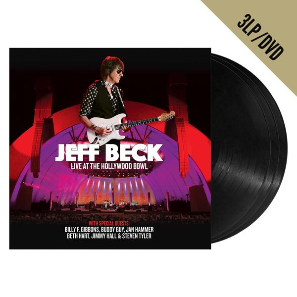 Jeff Beck - Live at the Hollywood Bowl (EagleVision, 2017) 3LP+DVD-Gebinde