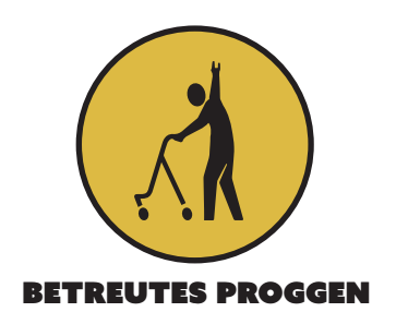 Betreutes Proggen- Alternatives Logo (Michael Schulze)