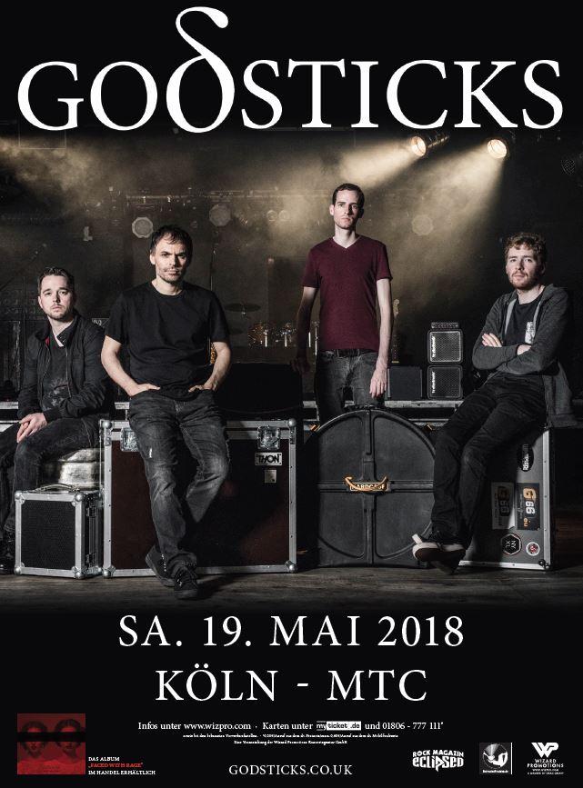Godsticks (Wizard Promotions) Präsentation 19.05.18, Köln, MTC one-off