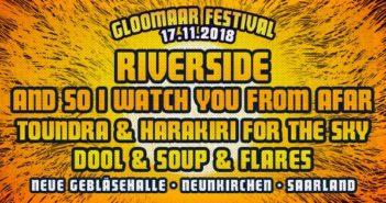 Präsentiert u.a. von BetreutesProggen.de: Gloomaar Festival 2018! 17.11.18