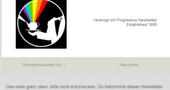 Neues Newsletter-Modul seit 7/18 auf BetreutesProggen.de!