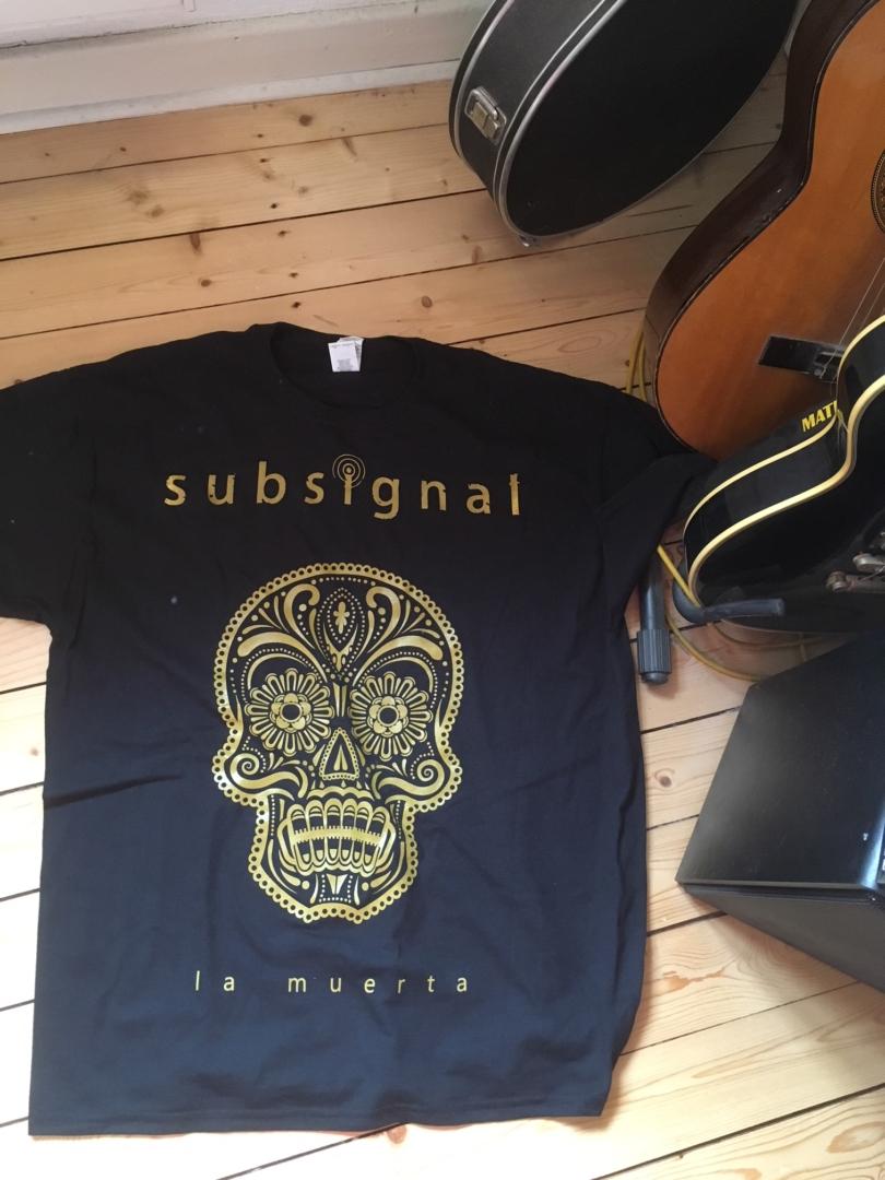 """""""La Muerta""""-Bandshirt von Subsignal"""