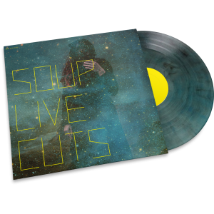 "LP-Porn: Soup ""Live Cuts"" transparent turquoise Vinyl"
