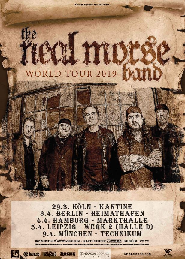Neal Morse Band - Tour 2019 The Great Adventure (präs. v. BetreutesProggen)