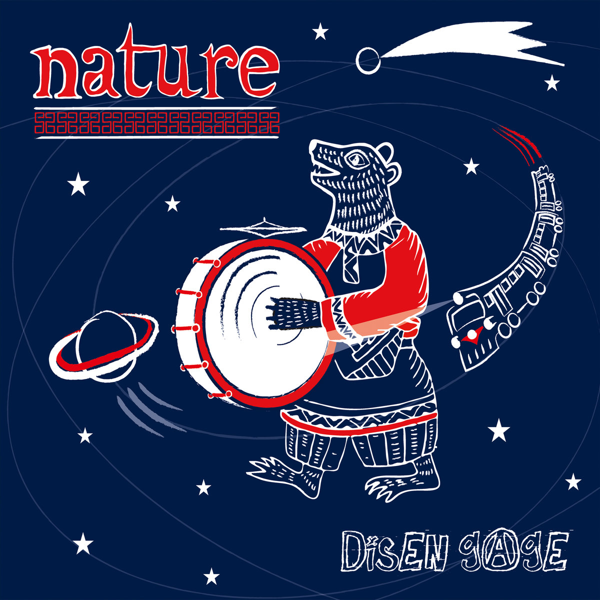 Disen Gage - Nature (CD, Download, [addicted label], 2018)