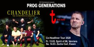"""BetreutesProggen präsentiert Prog Generations - Chandelier & """"t""""delier"""