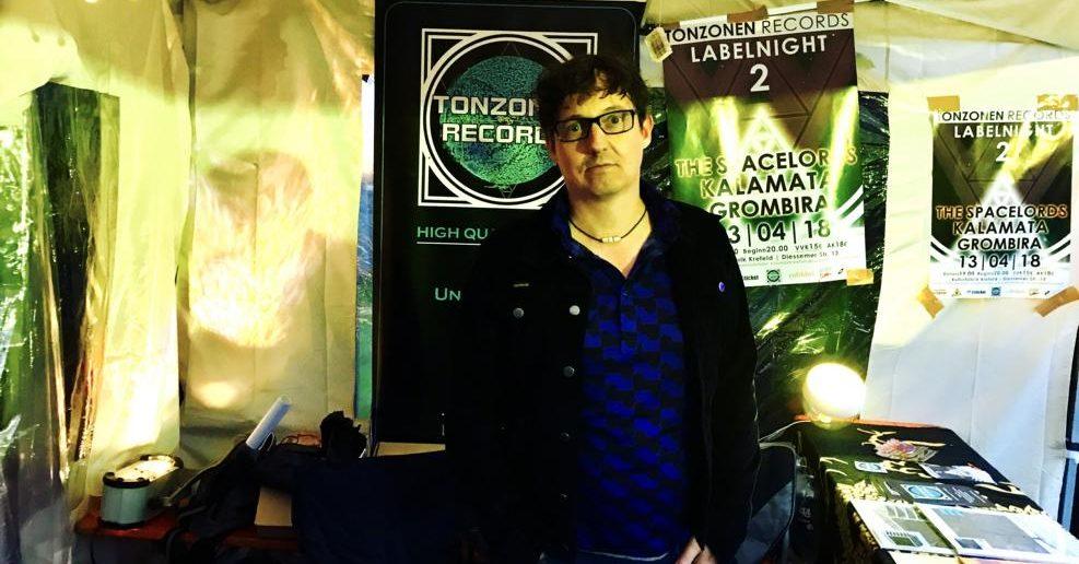 Dirk Raupach, Gründer von Tonzonen Records, Krefeld