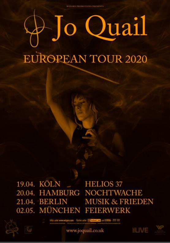 BetreutesProggen.de präsentiert Jo Quail, European Headliner Tour!