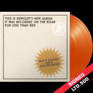 DeWolff - Tascam Tapes - orange vinyl