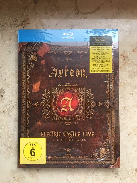 Ayreon - Electric Castle live and other Tales - Packshot