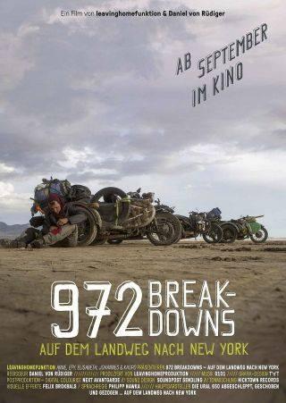972 BREAKDOWNS - Auf dem Landweg nach New York (Kino-Plakat)