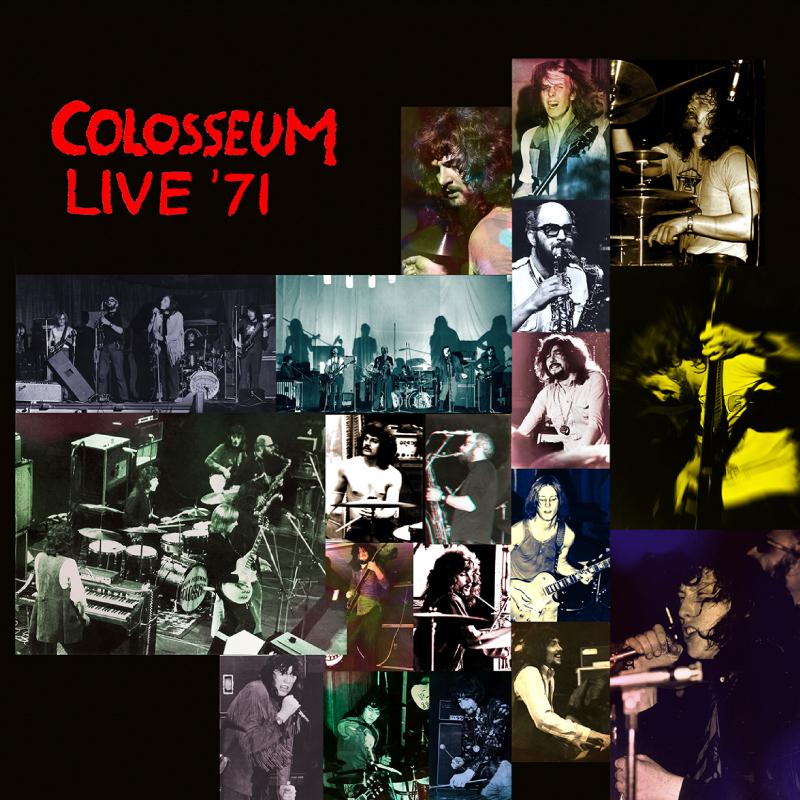 Colosseum - Live '71: Canterbury, Brighton & Manchester (Repertoire, 2020)