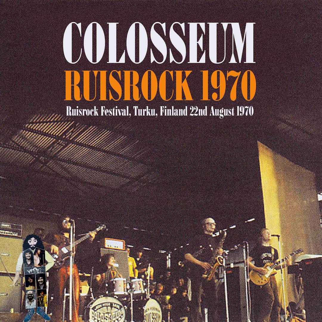 Colosseum - Live at Ruisrock, Turku, Finland 1970 (Repertoire, 2020)