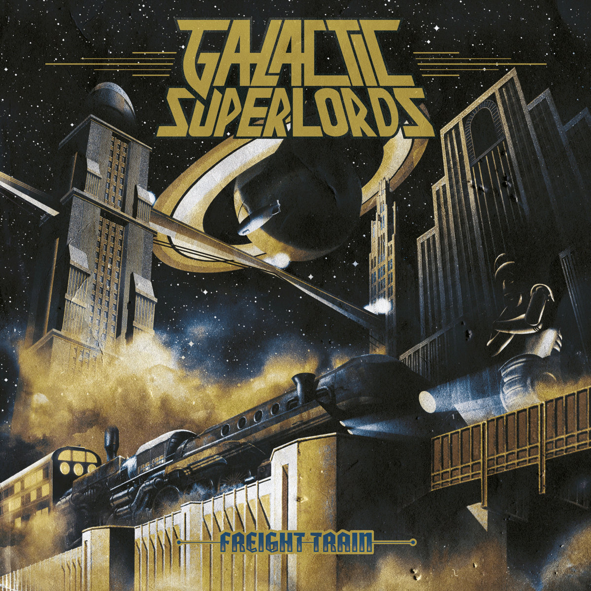 Galactic Superlords - Freight Train (Rock Freaks Records/ recordjet, 2020)
