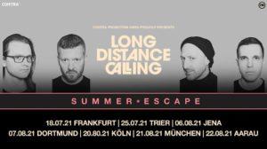 Long Distance Calling, 25.07.21, Trier, Arena Vorplatz